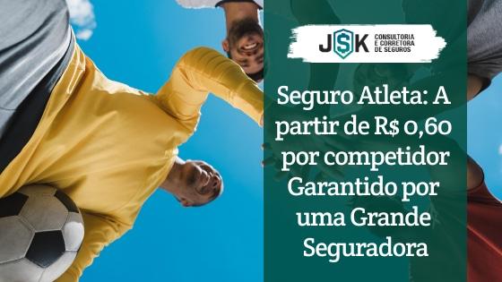 Seguro Atleta: A partir de R$ 0,60 por competidor